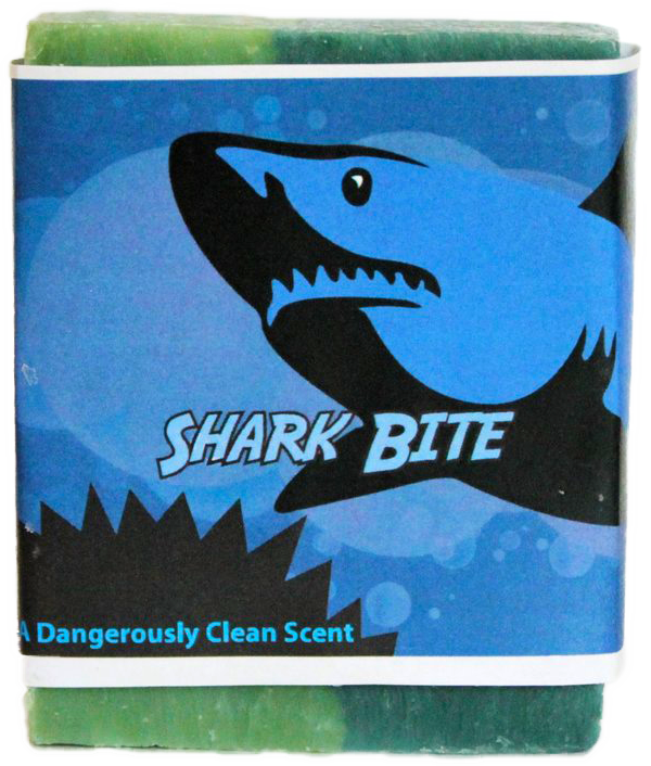 Shark Bite Soap