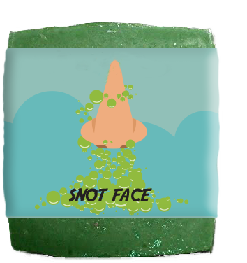 Snot Face Soap