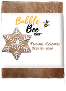Sugar Cookie Winter Holiday Soap