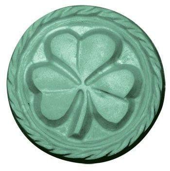Pot Of Gold Good Luck Shamrock Soap Bar