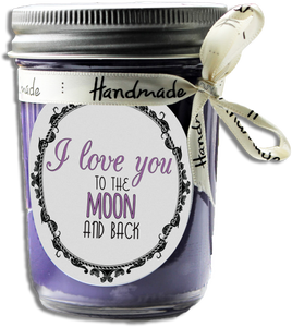 I LOVE YOU TO THE MOON AND BACK SOY SCENTED CANDLE