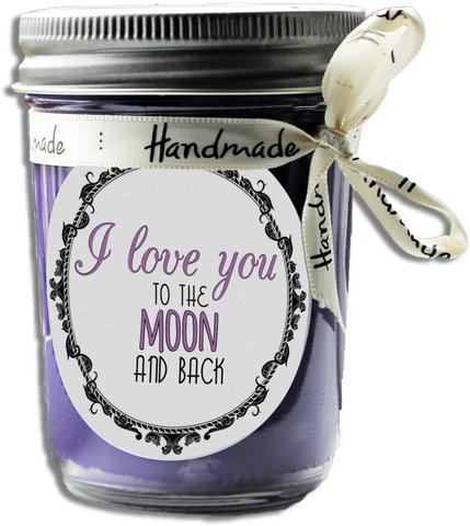 I Love You To The Moon And Back Scented Soy Candle