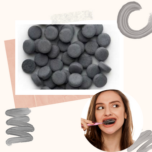 Mint Charcoal Infused Toothpaste Dots