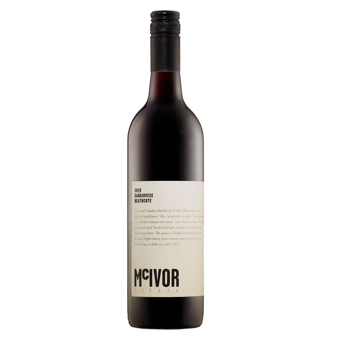 McIvor Estate Shiraz 2014