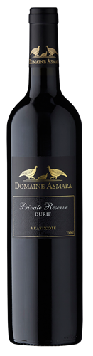 Domaine Asmara Private Reserve Durif 2018