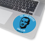JW Fan Club Blue Sticker