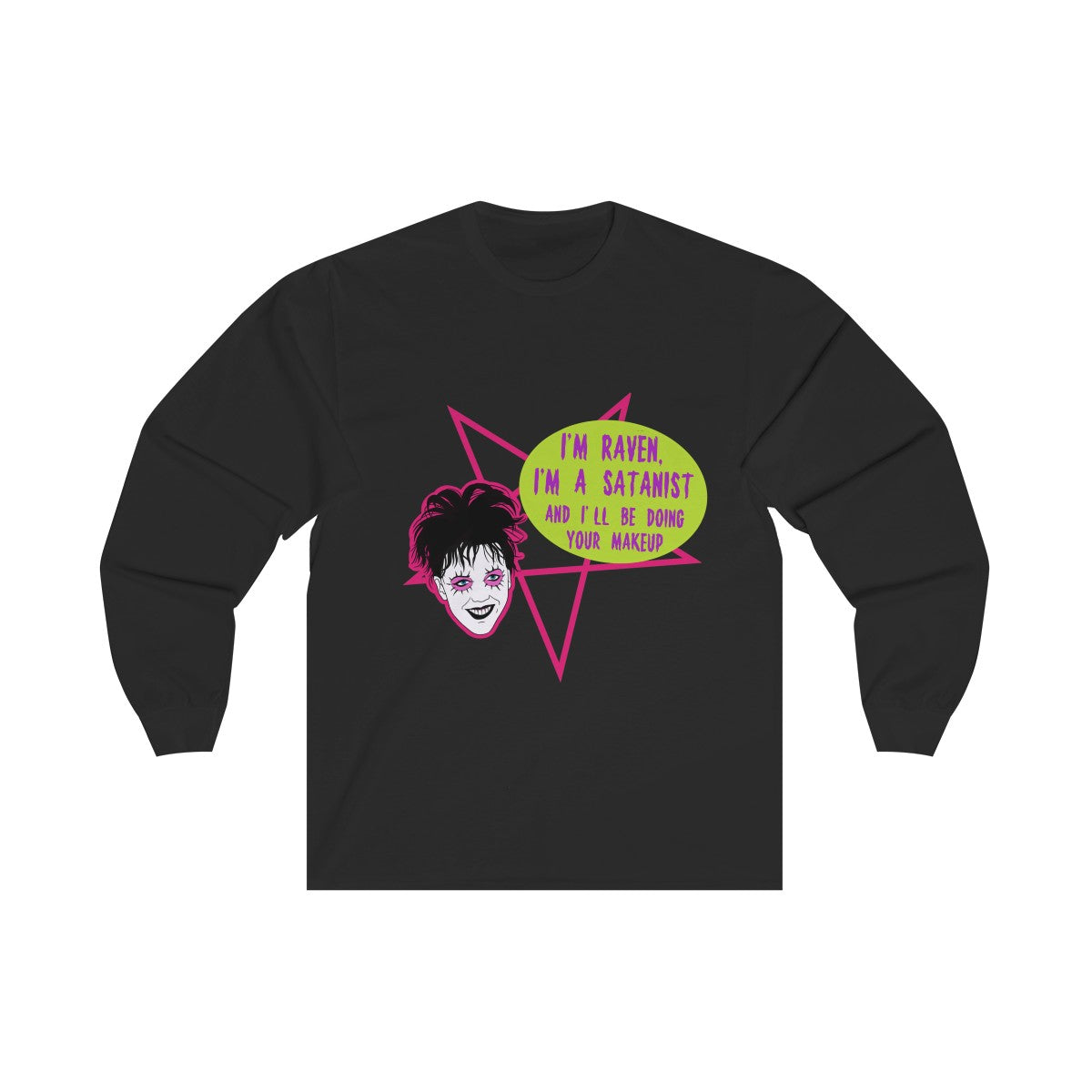 Raven Unisex Long Sleeve Tee
