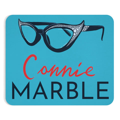 Connie's Glasses Mousepad