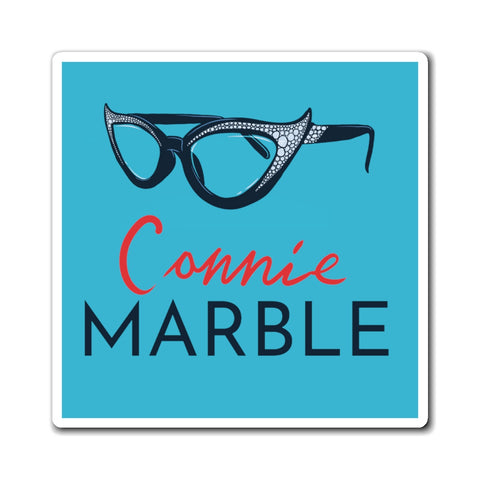 Connie's Glasses Magnet