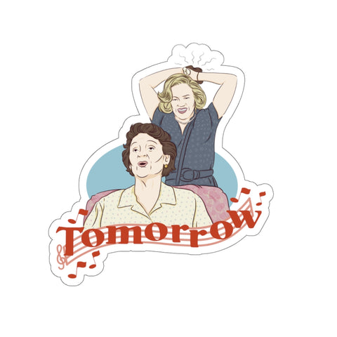 Tomorrow Sticker