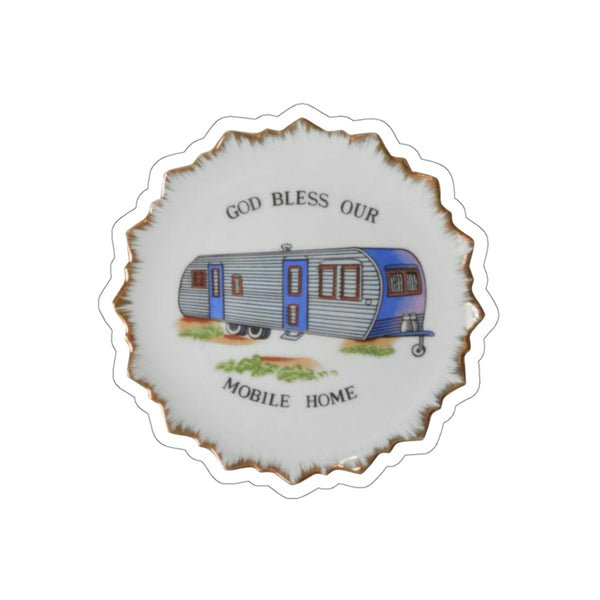 Mobile Home Sticker - MISTERBNATION