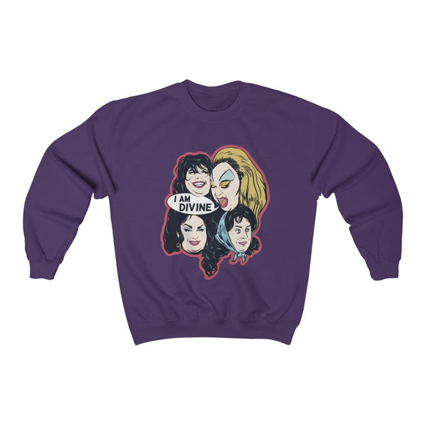 I AM DIVINE Sweatshirt