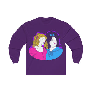 Penny And Tracy Unisex Long Sleeve Tee