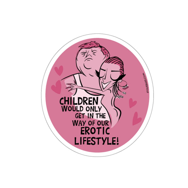 Polyester Erotic Stickers