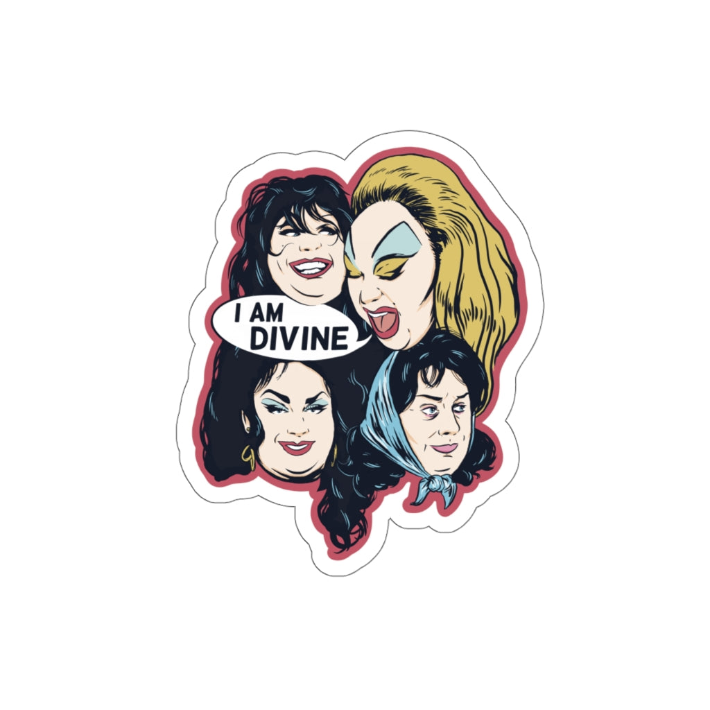 I AM DIVINE Sticker
