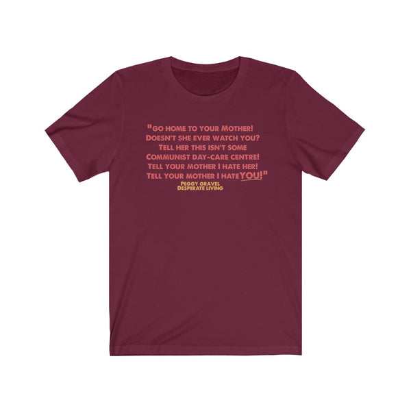Quote Tee Peggy - MISTERBNATION