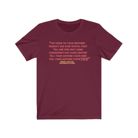 Quote Tee Peggy