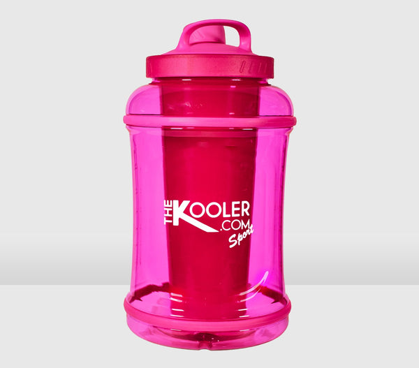 Pink 1/2 Gallon Kooler Sport with Shaker Cup