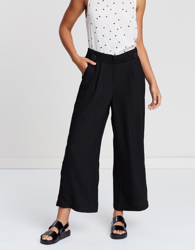 Good vibes wide leg pant  Sass - shop online NZ Denim Den