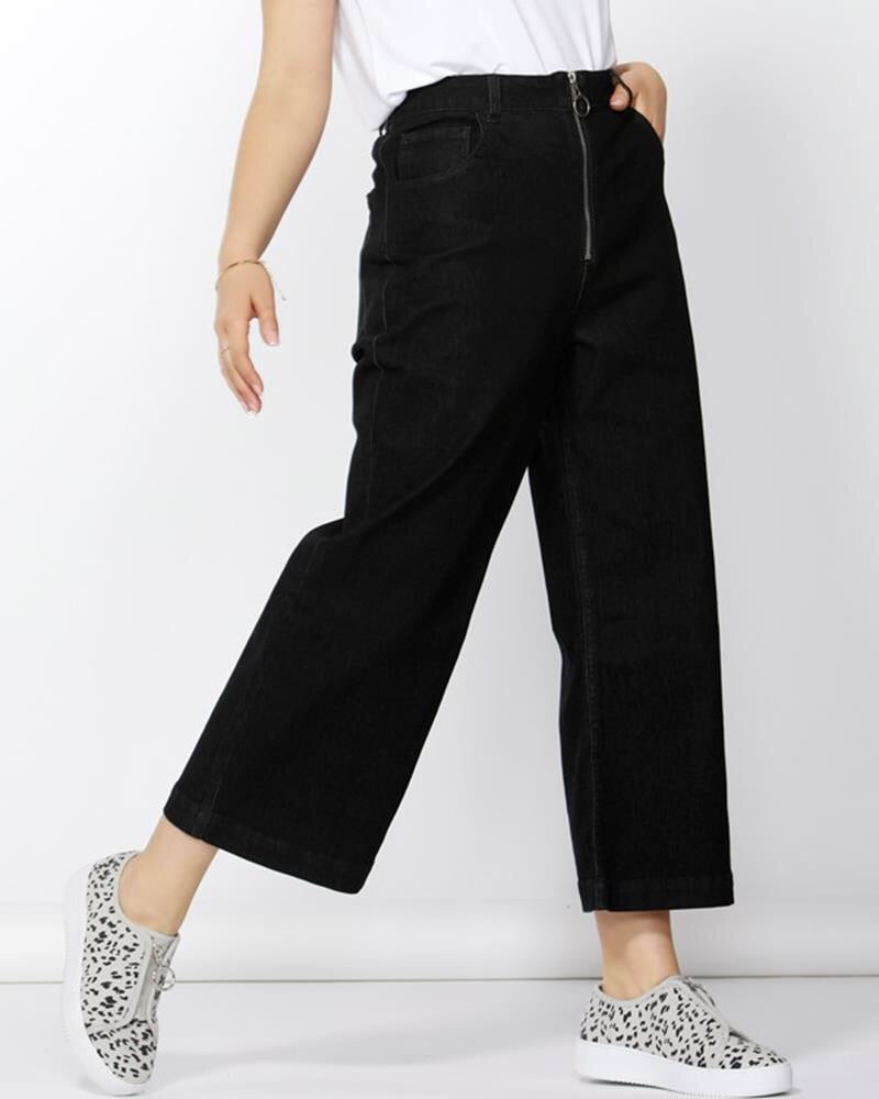 Drew wide crop jean  Betty Basics - shop online NZ Denim Den