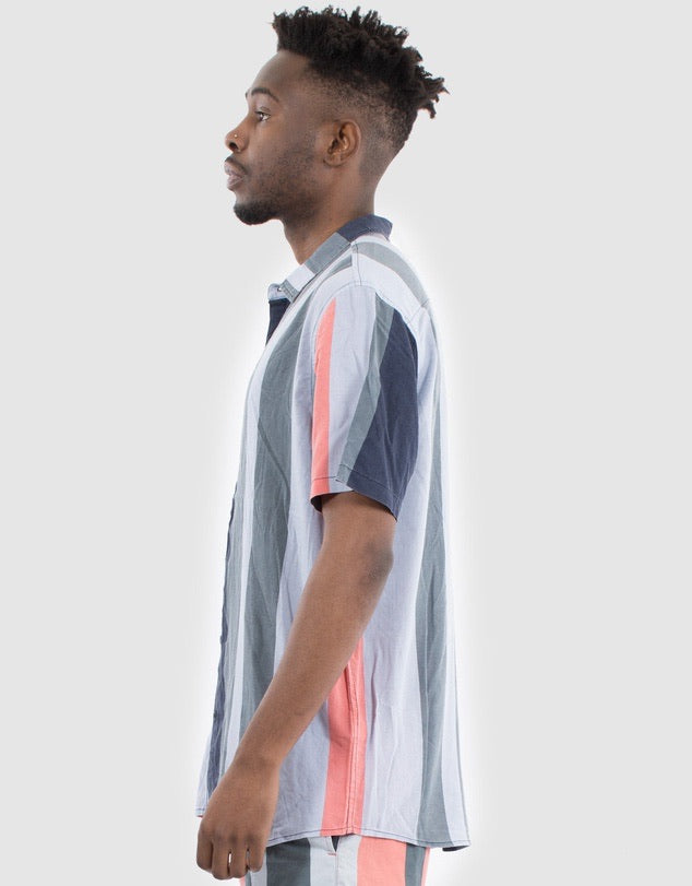 National Vert Stripe S/S Shirt