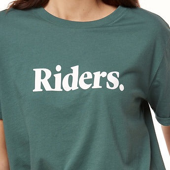 Imprint relaxed tee top  Riders - shop online NZ Denim Den