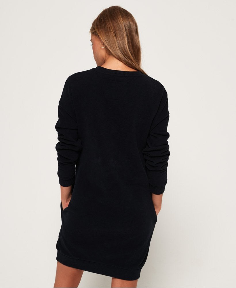 Embellished sweat dress  Superdry - shop online NZ Denim Den