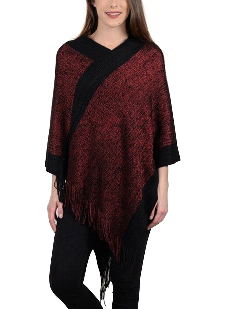 Knitted poncho  Molly Bracken - shop online NZ Denim Den
