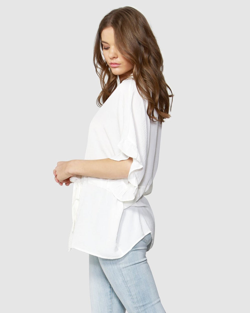 C'est La Vie shirt top  Fate + Becker - shop online NZ Denim Den