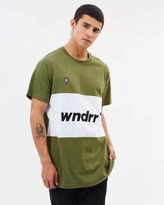 Rollout panel custom fit tee  WNDRR - shop online NZ Denim Den
