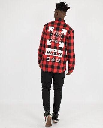 Freight L/S check shirt  WNDRR - shop online NZ Denim Den