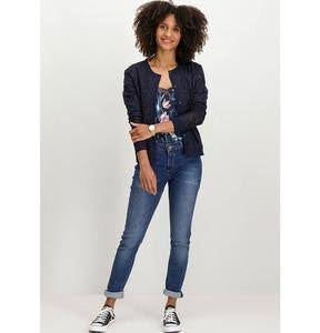 Celia blue worn jean  Garcia - shop online NZ Denim Den