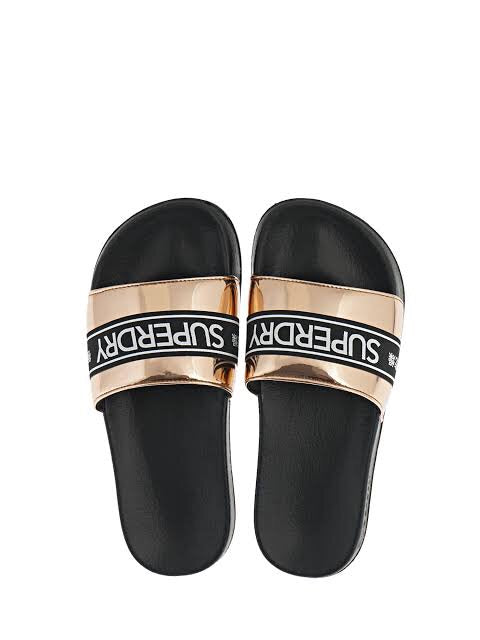 Superdry tape pool slide