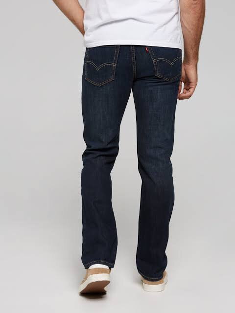 516 straight Jean petrol  Levis - shop online NZ Denim Den
