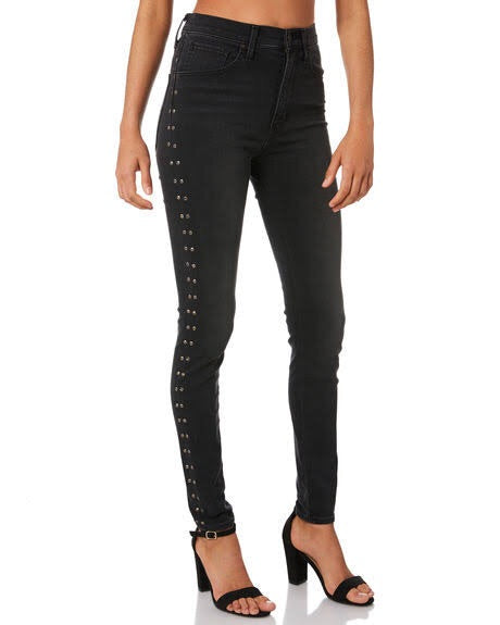 Studded mile High super skinny jean  Levis - shop online NZ Denim Den