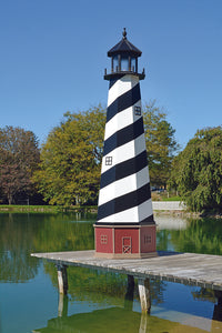 Amish Crafted 12 ft. Cape Hatteras, North Carolina (shown with optional base)