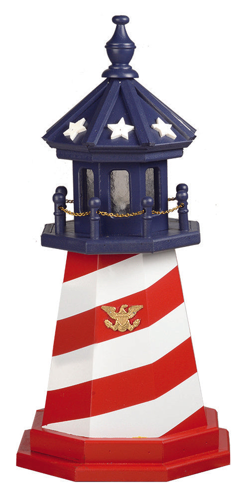 Amish Crafted 2 ft. Patriotic Cape Hatteras