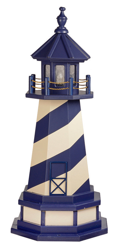 Amish Crafted 3 ft. Cape Hatteras, North Carolina  (shown with optional base)