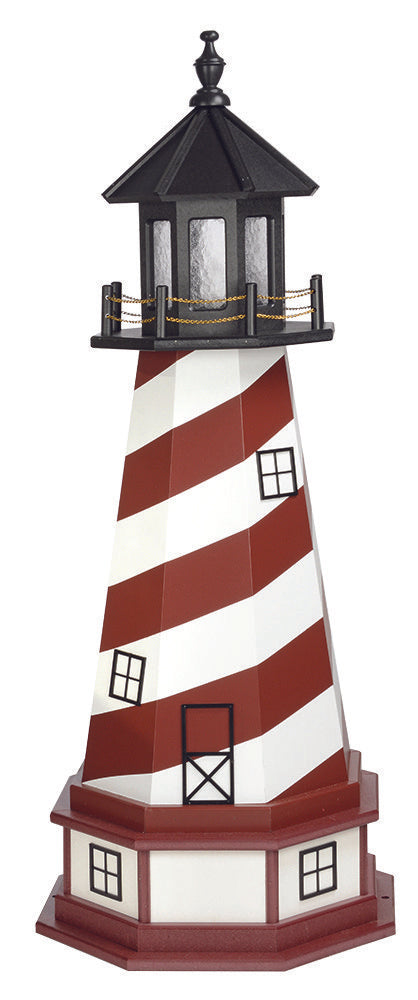 Amish Crafted 4 ft. Cape Hatteras, North Carolina (shown with optional base)
