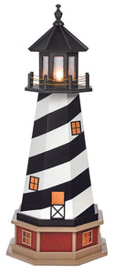 Amish Crafted 4 ft. Cape Hatteras, North Carolina (shown with optional base & interior lighting)