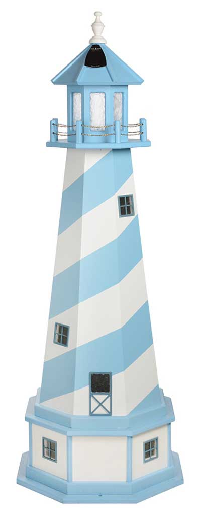 Amish Crafted 5 ft. Cape Hatteras, North Carolina (shown with optional base & interior lighting)