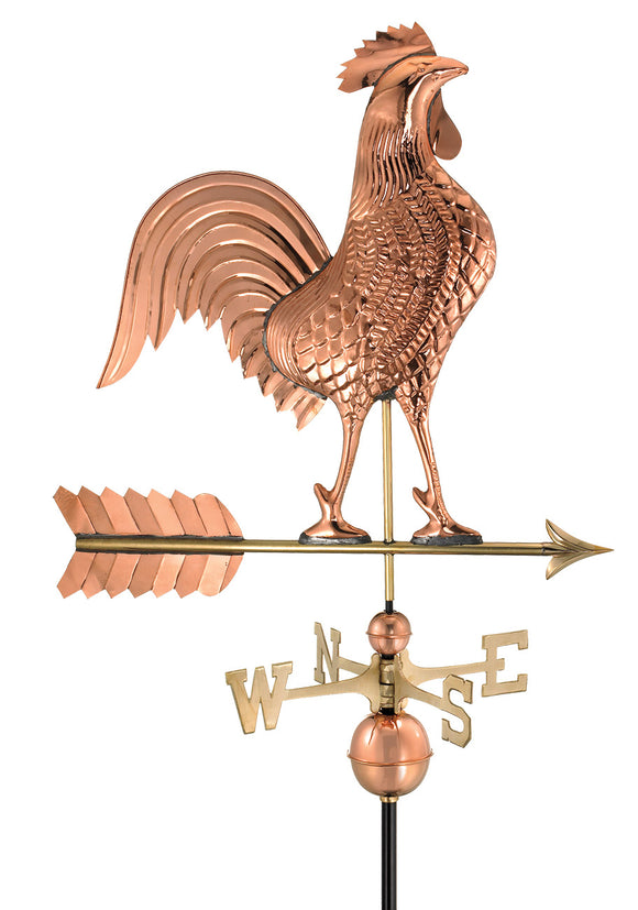 Amish Crafted North Fork/Hampton Series Weathervanes-Rooster 515P