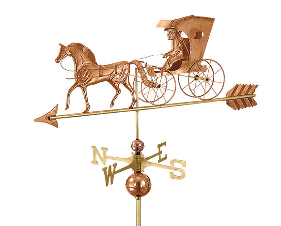 Amish Crafted North Fork/Hampton Series Weathervanes-Country Doctor