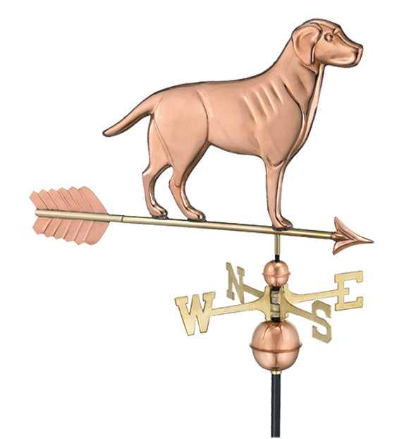 Amish Crafted North Fork/Hampton Series Weathervanes-Labrador Retreiver