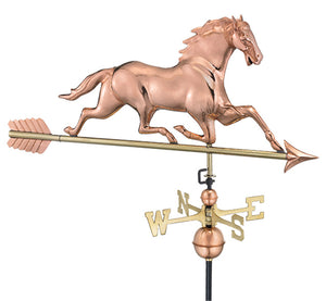 Amish Crafted North Fork/Hampton Series Weathervanes-Horse w/arrow