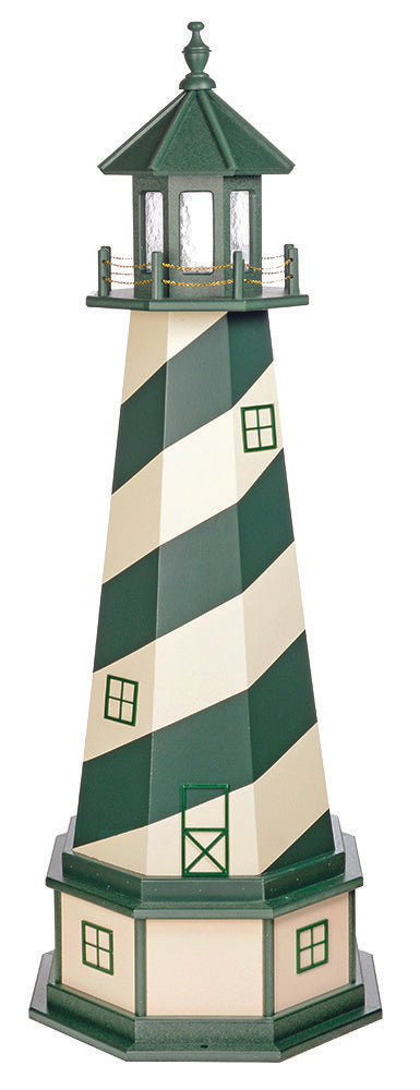 Amish Crafted 5 ft. Cape Hatteras, North Carolina  (shown with optional base)