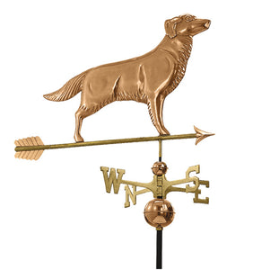 Amish Crafted North Fork/Hampton Series Weathervanes-Golden Retriever