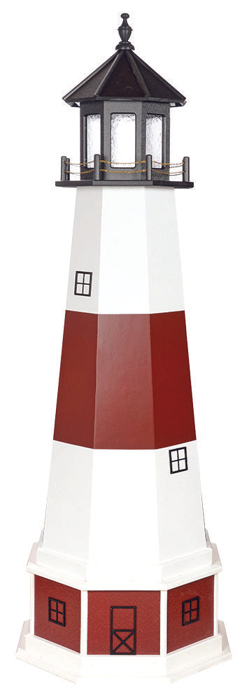 Amish Crafted 6 ft. Montauk, New York (shown with optional base)