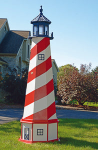 Amish Crafted 8 ft. Patriotic Cape Hatteras (shown with optional base)