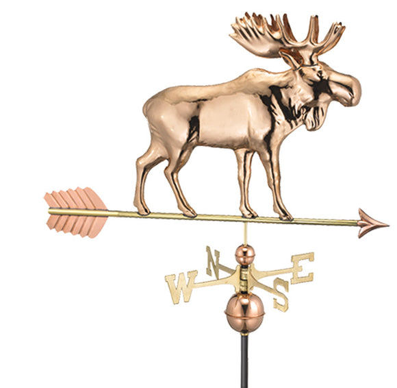 Amish Crafted North Fork/Hampton Series Weathervanes-Moose